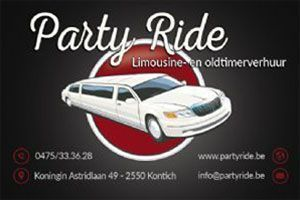 Taxi - Party Ride in België - Nederland - Antwerpen - Kontich